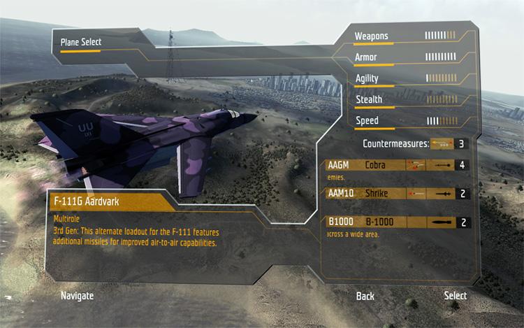 A purple F-111G?