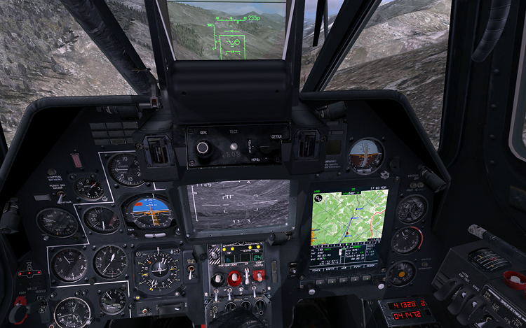 DCS: Black Shark 2 - It looks like the old cockpit...