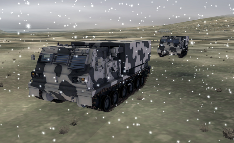 DCS: Black Shark 2 - The MLRS is a rare sight in winter, often choosing instead to hibernate and live off its M77 DPICM reserves.