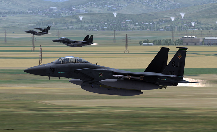 DCS: Black Shark 2 - Mudhens inbound.