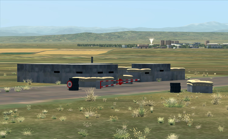 DCS: Black Shark 2 - New structures have been added to the Mission Editor palette: this one shoots back!
