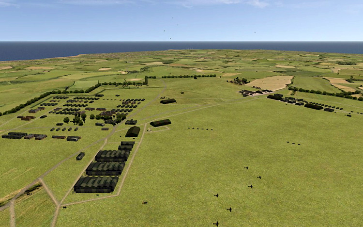 Battle of Britain II: Wings of Victory - Update 2.12 - Manston (including outbuildings and tree lines)