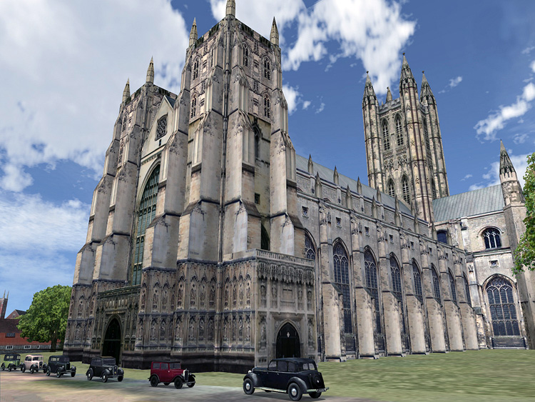 Battle of Britain II: Wings of Victory - Update 2.12 - Canterbury Cathedral