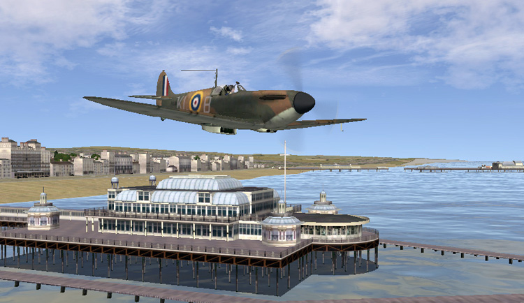 Battle of Britain II: Wings of Victory - Update 2.12 - Brighton Pier