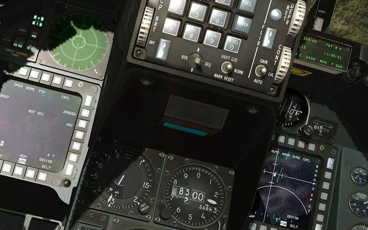 BMS 4.32 Falcon 4.0 - 3D Cockpit
