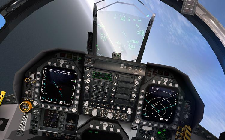 BMS 4.32 Falcon 4.0 - cockpit