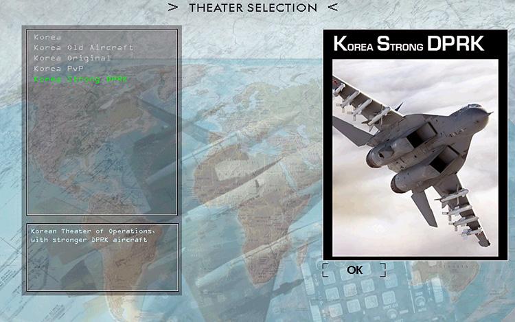 BMS 4.32 Falcon 4.0 - theater selection