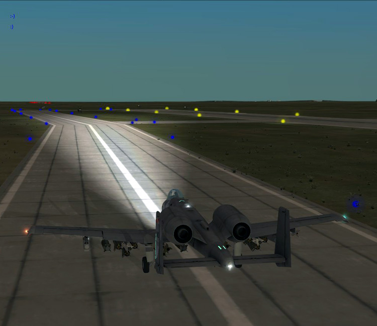 DCS: A-10C Fly-In