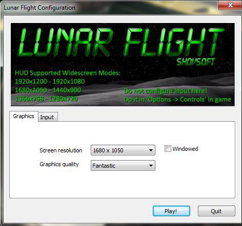 Lunar Flight's Launcher