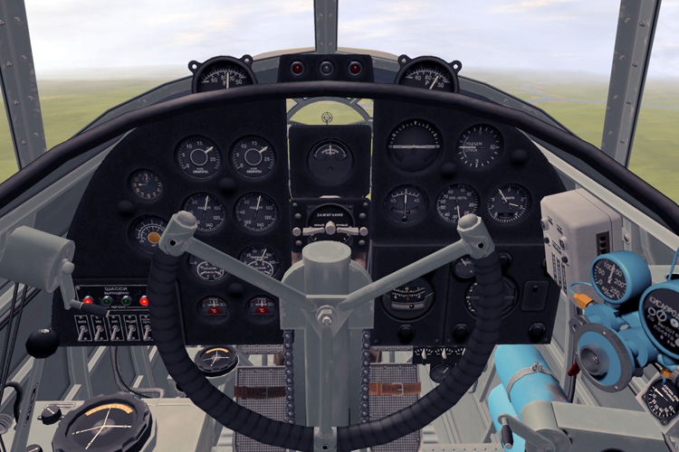 But the IL-4 cockpit looks fantastic and is great to fly.