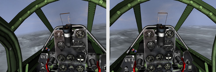 Huzzah for 6DOF cockpits!