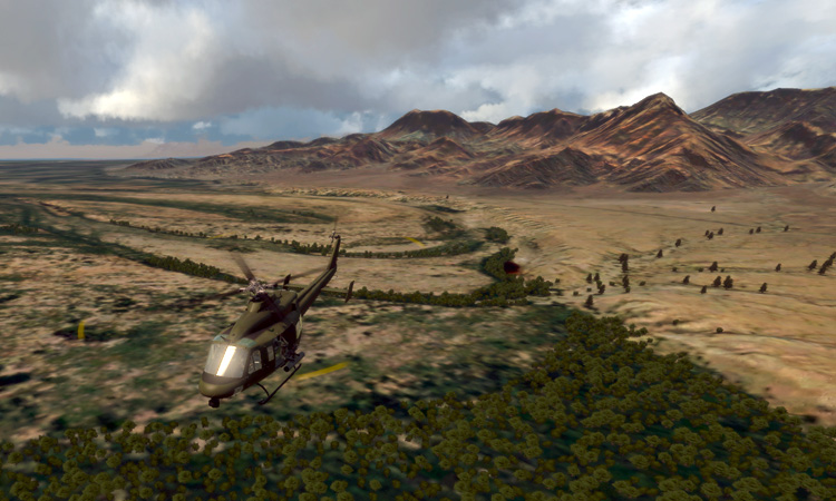 Take On Helicopters v1.04 made a huge difference.