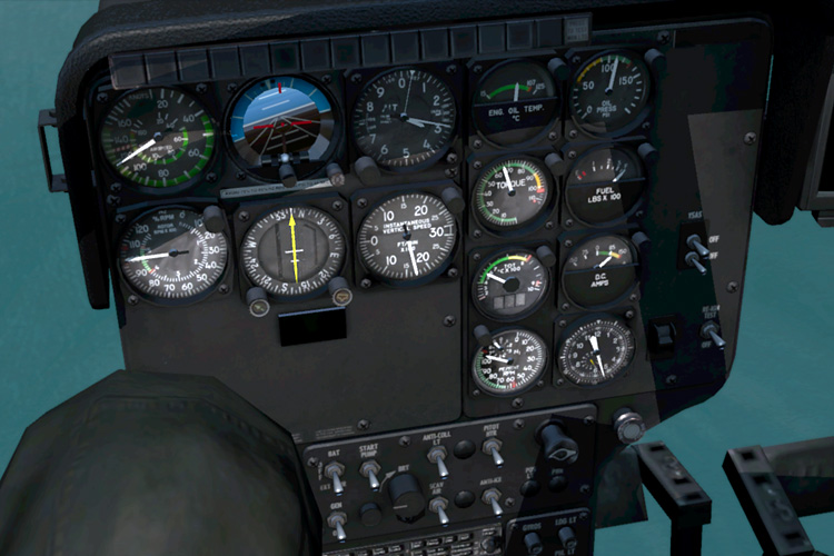 Take On Helicopters - 3D controls