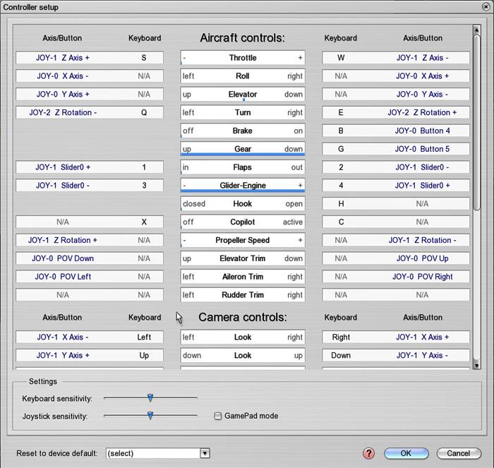Aerofly FS - Controller setup