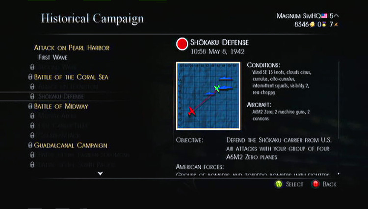 Birds of Steel - Historical Campaign