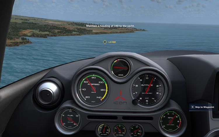 Microsoft Flight - The Icon Sport Plane
