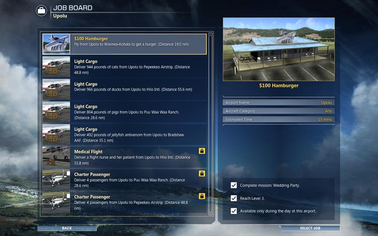 Microsoft Flight - The Job Board