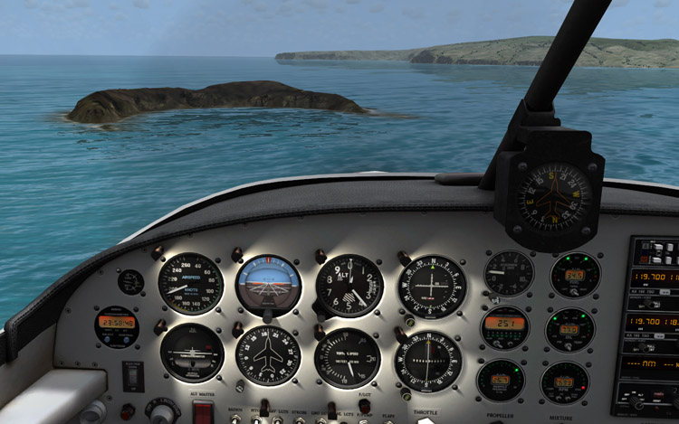 Microsoft Flight - Ocean Water...