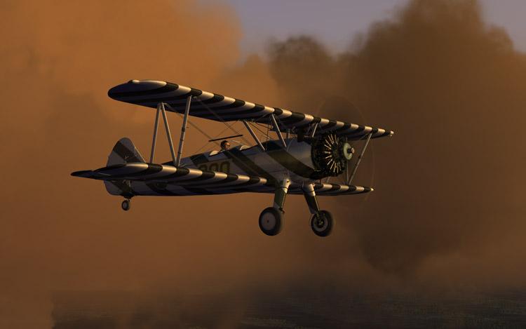Microsoft Flight - Stearman