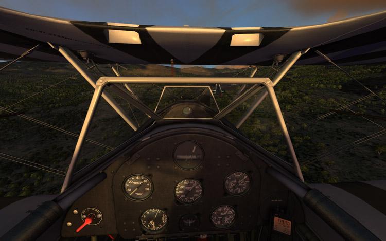 Microsoft Flight - Cockpit