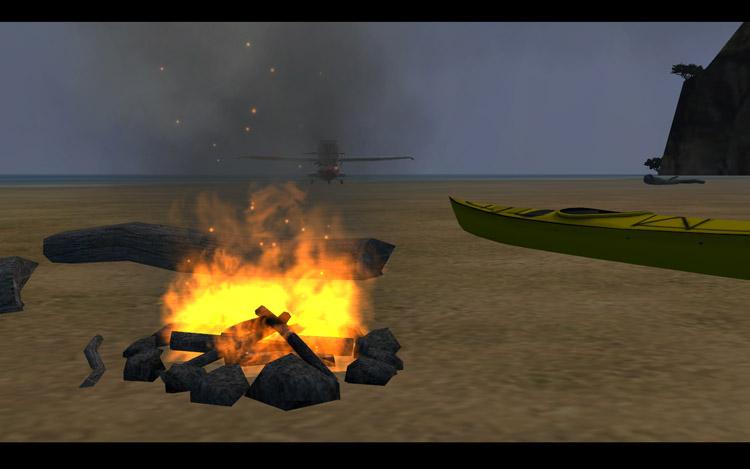 Microsoft Flight - Save the Kayaker