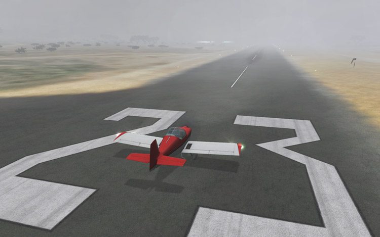 Microsoft Flight - Hazy