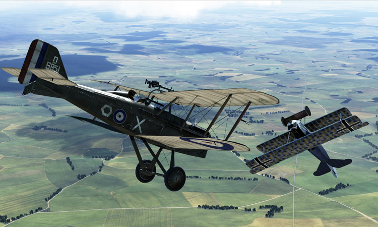 Rise of Flight - S.E.5a and Fokker D.VII