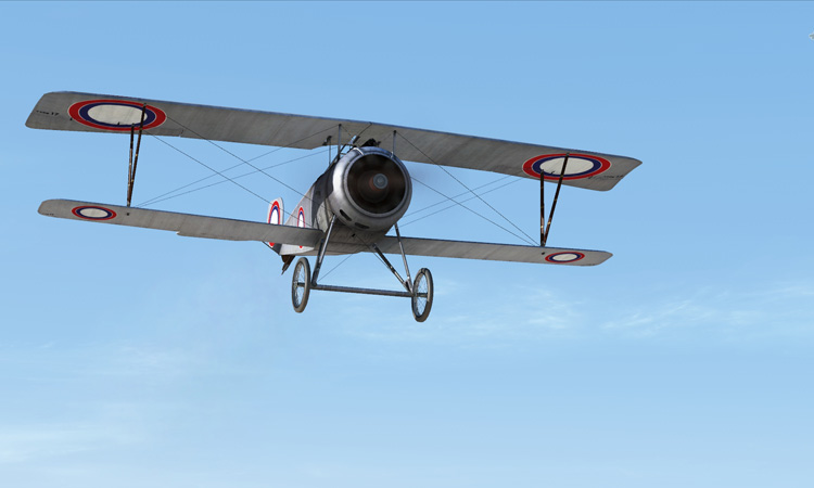 Rise of Flight - Nieuport 17