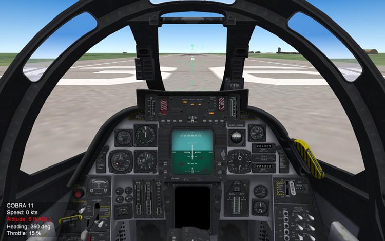 Third Wire Tomcat cockpit