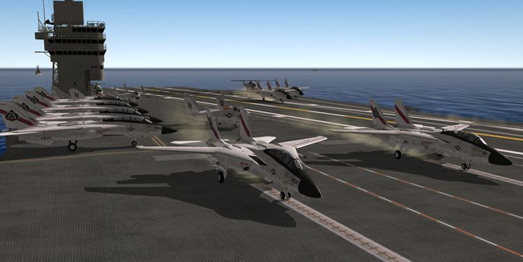 Strike Fighters 2: North Atlantic - Launch!
