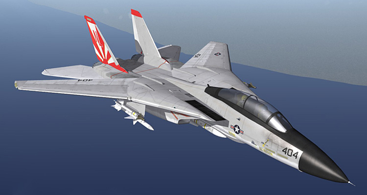 Strike Fighters 2: North Atlantic - The F-14 Tomcat