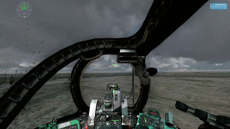 Take On Helicopters - Hinds cockpit