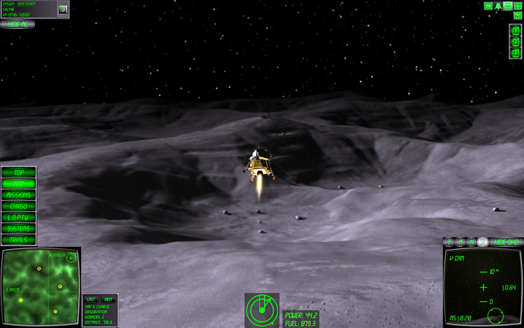 Lunar Flight - Mars: It's like Planet Express, except with a LEM! And no Zoidberg.