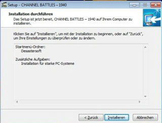 Install screen 4 - Desastersoft's Channel Battles