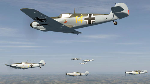 Desastersoft's Channel Battles - a Luftwaffe (LW) fighter campaign comprising 2 mini campaigns, starting with I/JG20 in Battle of France and progressing to III/JG51 for the Battle of Britain