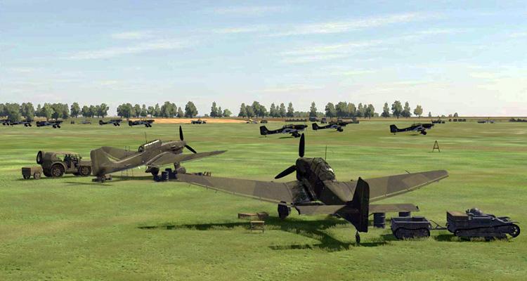Desastersoft's Channel Battles - Stuka airfield.
