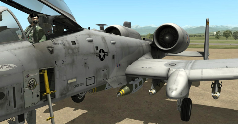 This A-10C is ready to rock. Image courtesy of MaceUK33.