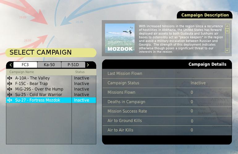 New campaigns.