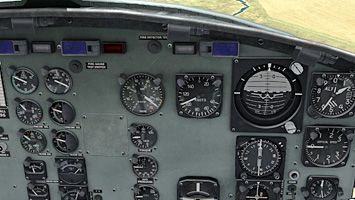 A panel full of working gauges and dials!