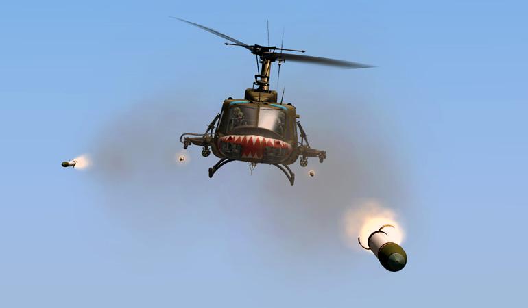 DCS: UH-1H Huey - Pew pew pew!