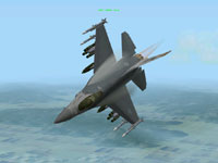 I punch in the afterburner