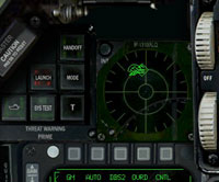 I see a flight of MiG-23s on the RWR scope