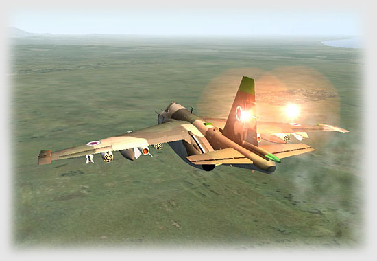 The Su-25s will not be denied.