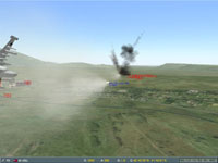 ...the Georgian has time to fire a Kh-25ML laser missile at the tracking radar...