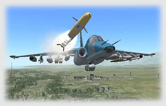 Su25T Firing Vikhr