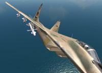 The Syrian MiG-29.