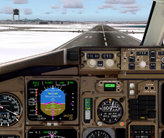 Boeing vs  Airbus – Part 2 Level-D Simulations Boeing 767