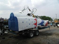 F-4 starbird rear.