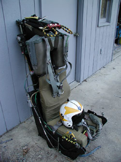 Ejection Seat Front.