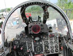 Cockpit Front.